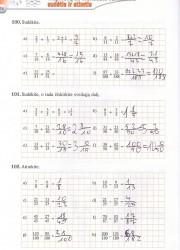 Matematika tau 6 klasei 1 dalis 36 puslapis nemokami pratybų atsakymai