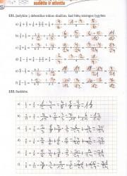 Matematika tau 6 klasei 1 dalis 42 puslapis nemokami pratybų atsakymai