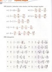Matematika tau 6 klasei 1 dalis 44 puslapis nemokami pratybų atsakymai