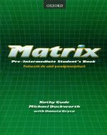 Matrix Pre-Intermediate student's book answers virselis