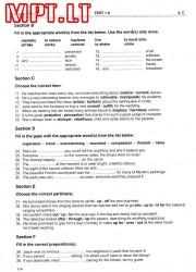 Mission FCE 2 - 114 page nemokami pratybų atsakymai