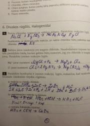 Nemetalu Chemija 10 klasei 14 puslapis nemokami pratybų atsakymai