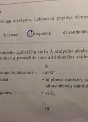Nemetalu Chemija 10 klasei 18 puslapis nemokami pratybų atsakymai