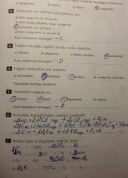 Nemetalu Chemija 10 klasei 9 puslapis nemokami pratybų atsakymai