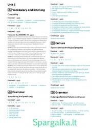 Solutions (Intermediate workbook) 11 page nemokami pratybų atsakymai