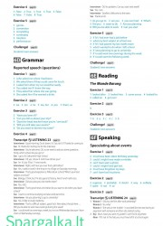 Solutions (Intermediate workbook) 14 page nemokami pratybų atsakymai