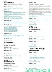 Solutions (Intermediate workbook) 17 page nemokami pratybų atsakymai