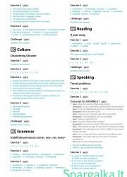 Solutions (Intermediate workbook) 19 page nemokami pratybų atsakymai