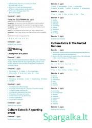 Solutions (Intermediate workbook) 20 page nemokami pratybų atsakymai