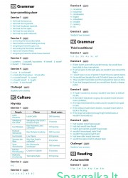 Solutions (Intermediate workbook) 22 page nemokami pratybų atsakymai