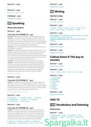 Solutions (Intermediate workbook) 23 page nemokami pratybų atsakymai