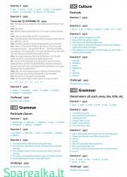 Solutions (Intermediate workbook) 24 page nemokami pratybų atsakymai