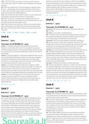 Solutions (Intermediate workbook) 28 page nemokami pratybų atsakymai