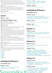 Solutions (Intermediate workbook) 29 page nemokami pratybų atsakymai