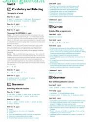 Solutions (Intermediate workbook) 6 page nemokami pratybų atsakymai