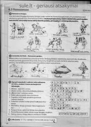 Zingsniai 6 klasei 1 dalis 26 puslapis nemokami pratybų atsakymai
