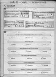 Zingsniai 6 klasei 1 dalis 34 puslapis nemokami pratybų atsakymai